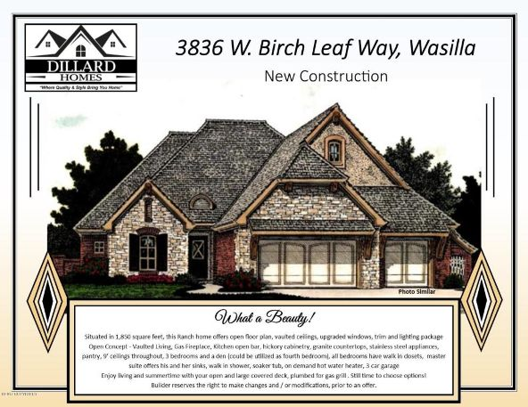 3836 W. Birch Leaf Way, Wasilla, AK 99623 Photo 1