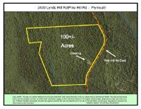 Home for sale: 2430 Lynds Hill Rd./Pine Hill Rd, Plymouth, VT 05056