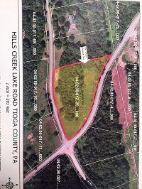 Home for sale: Lot # 26 Hills Creek Lake Rd., Wellsboro, PA 16901
