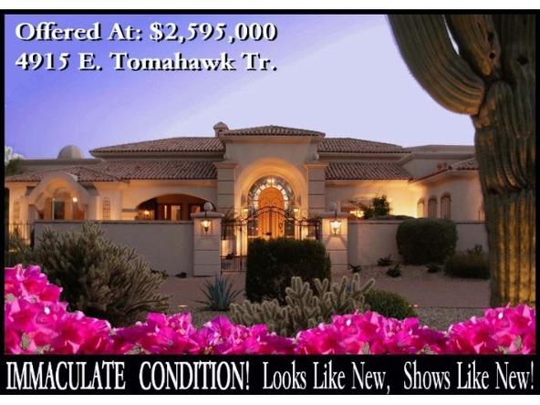 4915 E. Tomahawk Tr., Paradise Valley, AZ 85253 Photo 1